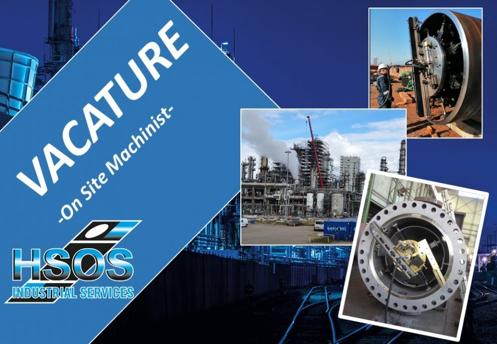 HSOS - Vacature On Site Machining