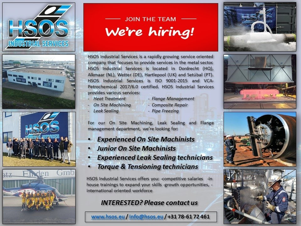 HSOS - we are hiring