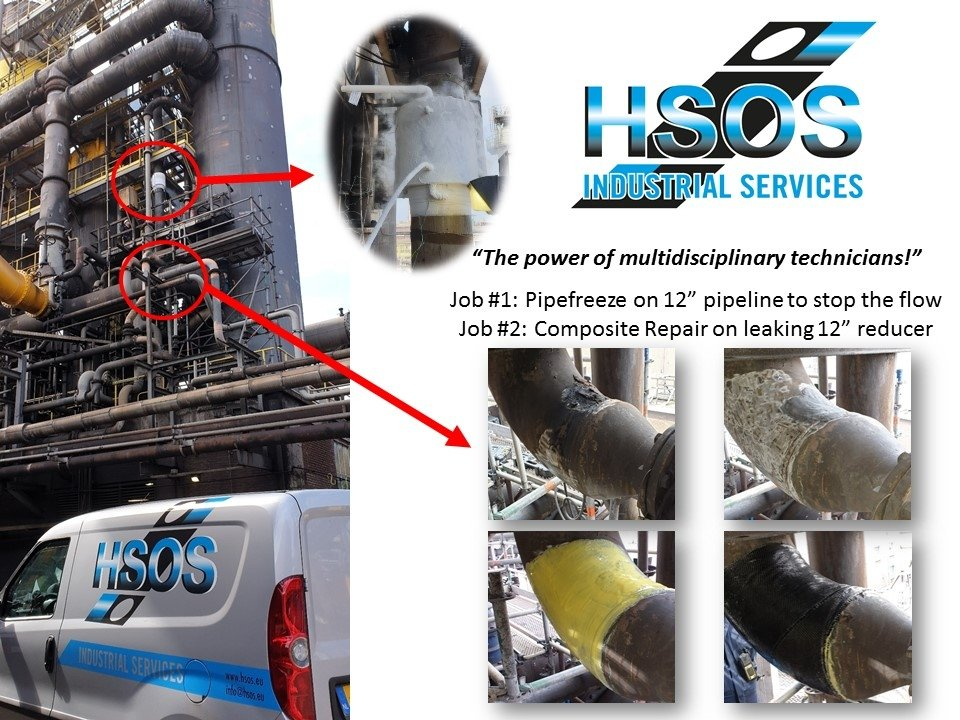 HSOS Combined Services - Pipefreeze & Composite Repair
